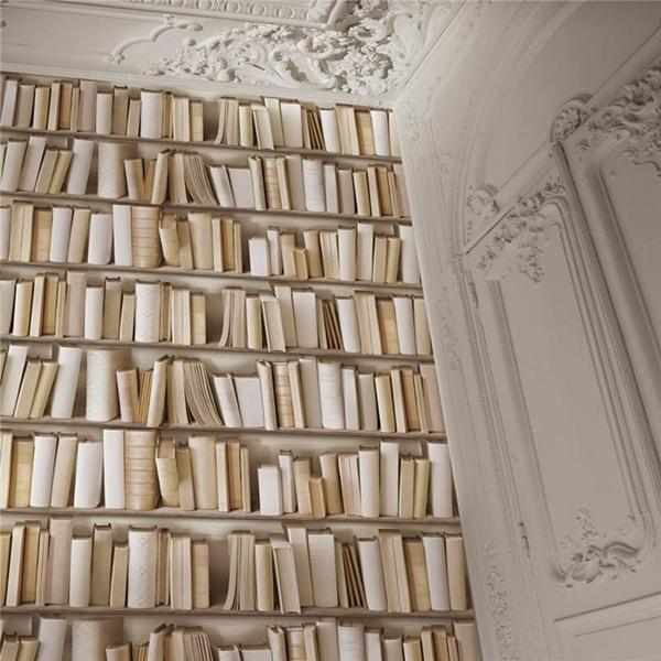 Papeles Pintados de Librerías