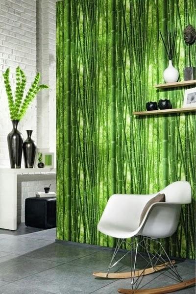 Papeles Pinados Bambu